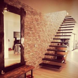 escalier suspendu AC19-ES01